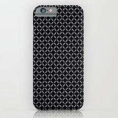 Black criss cross iPhone 6s Slim Case