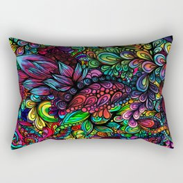 Lose Yourself to Color Rectangular Pillow