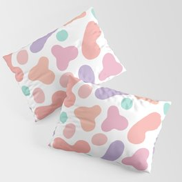Pastel splashes Pillow Sham