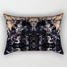 Flame kaleidoscope Rectangular Pillow