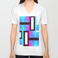 discount V-neck T-shirts featuring Sybaritic II by Aaron Carberry