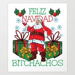 Feliz Navidad! Art Print