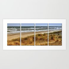 A Day at Hatteras Art Print
