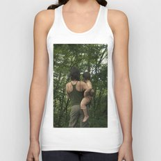 mother and son Unisex Tank Top