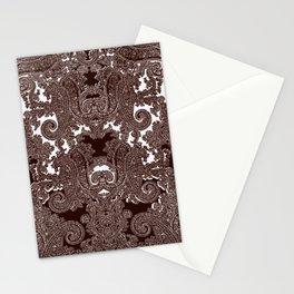 paisley vine Stationery Cards