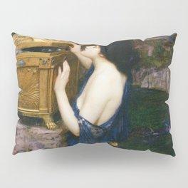PANDORAS BOX - JOHN WILLIAM WATERHOUSE  Pillow Sham
