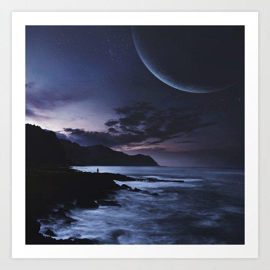 Distant Planets Art Print