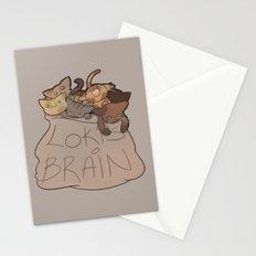 Loki's Brain Stationery Cards