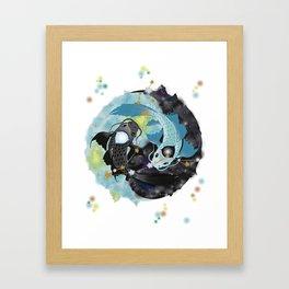 Dream Kois: Piscis Framed Art Print