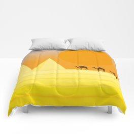 In the desert... Comforters