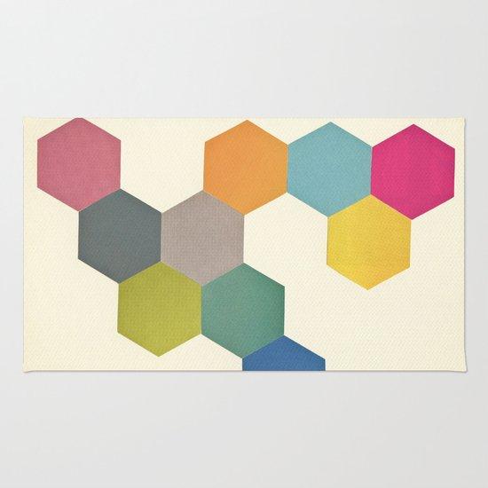 Honeycomb I Rug