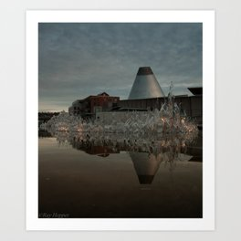 Reflections in MOG 2 Art Print