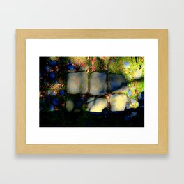 Spillover - Who Knows When... Framed Art Print