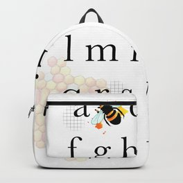 A bee C Backpack