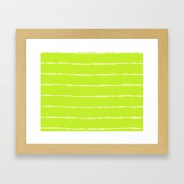 Two Colors Framed Art Print