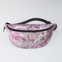 Organic Pink Abstract Marble Fanny Pack