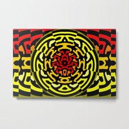 Colorandblack series 910 Metal Print