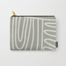 Pathways in Sage  Carry-All Pouch