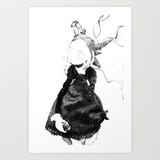 Death in Paris Art Print