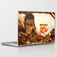 mad max Laptop & iPad Skins featuring Mad Max : Fury Road by p1xer