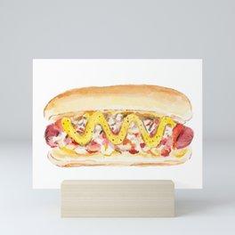 New York Style Hot Dog Mini Art Print