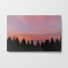 Bellingham, WA November Sunrise 2 Metal Print