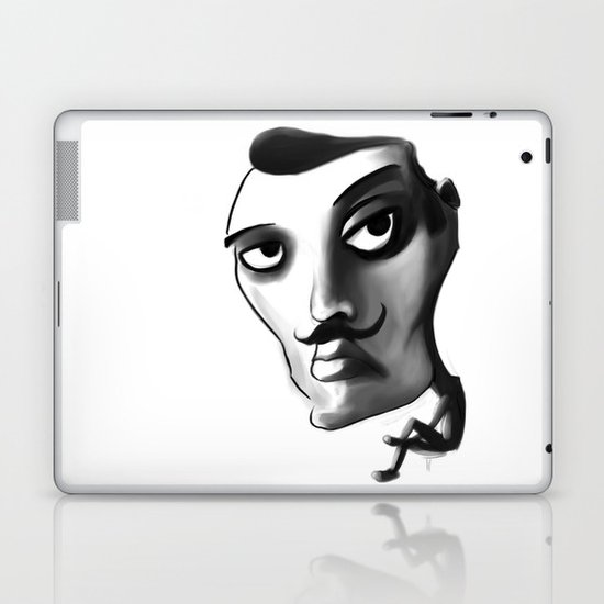 Imposter with a fake M... Laptop & iPad Skin