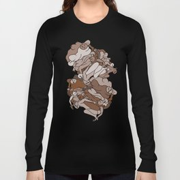 Chocolate Coffee Body Slugs Long Sleeve T-shirt