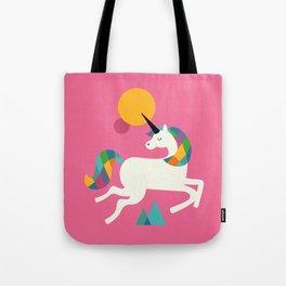 To be a unicorn Tote Bag