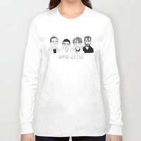 vampire weekend Long Sleeve T-shirts featuring Vampire Weekend by ☿ cactei ☿