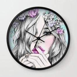 Coup de foudre Wall Clock