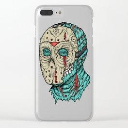 Undead Jason Clear iPhone Case