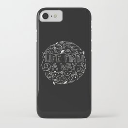 Life Finds a Way iPhone Case