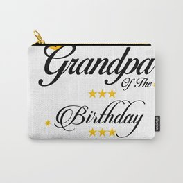Grandpa of The Birthday Princess Carry-All Pouch