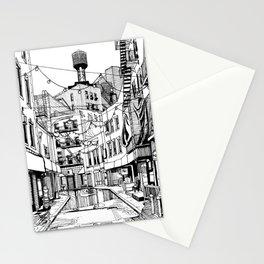 Concrete Jungle (BW) Stationery Cards
