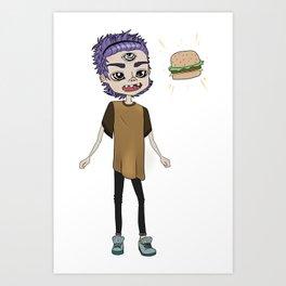 BRGR-BOY Art Print