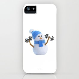 Keep Winter Weight Off iPhone Case