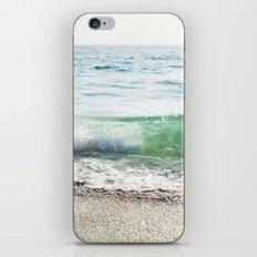 Aqua Waves in California iPhone Skin