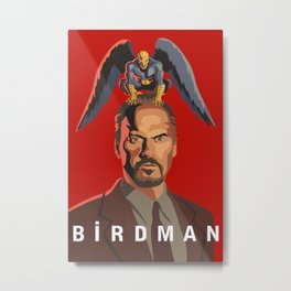 The Birdman Metal Print