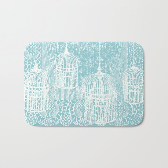 Hang in there.  Bath Mat