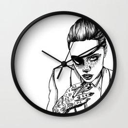 Bad bitch Wall Clock