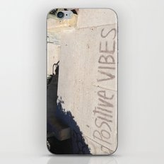 Positive Vibes iPhone & iPod Skin
