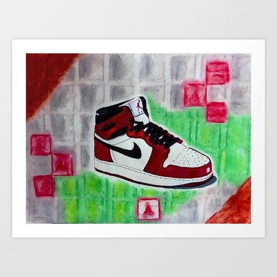 Retro 1 Art Print