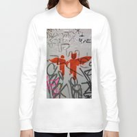super heroes Long Sleeve T-shirts featuring Super Heroes by Mauricio Santana