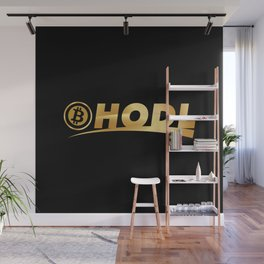 Bitcoin Hodl (Hold) Wall Mural