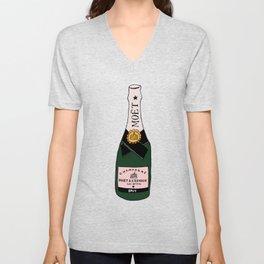 Champagne Unisex V-Neck