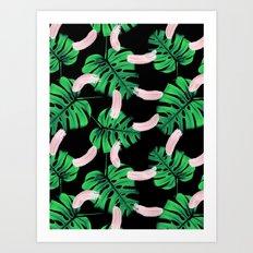 Moody Jungle Art Print