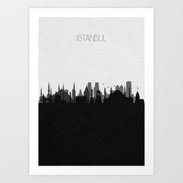City Skylines: Istanbul Art Print