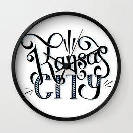 Kansas City Wall Clock