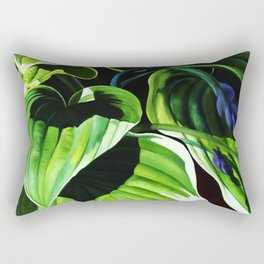 forest of betel leaf Rectangular Pillow